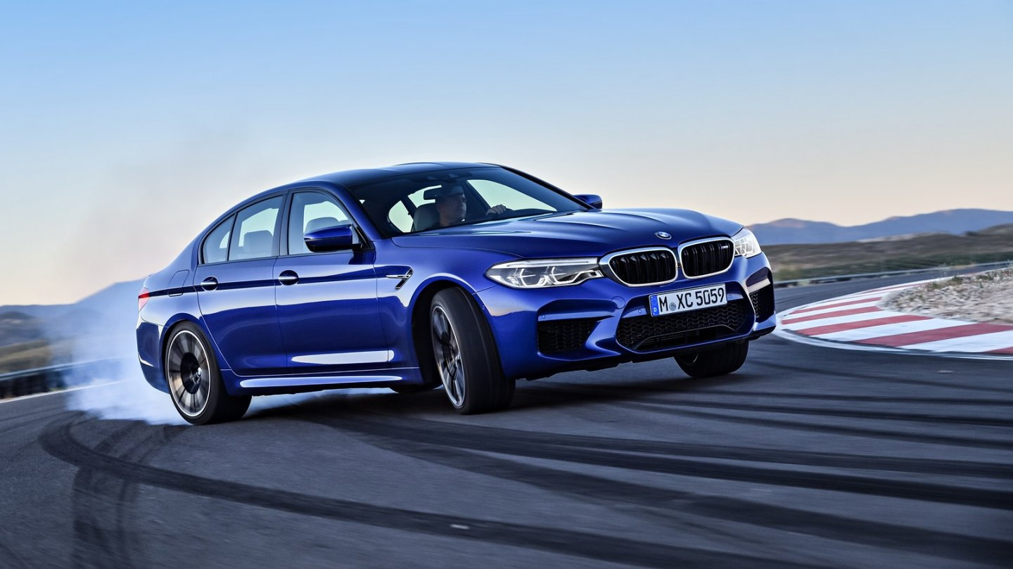BMW M5 2018 First Edition