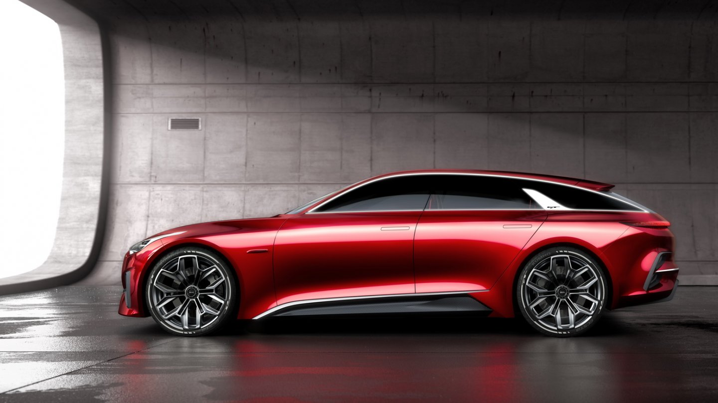 Kia Proceed Concept profile