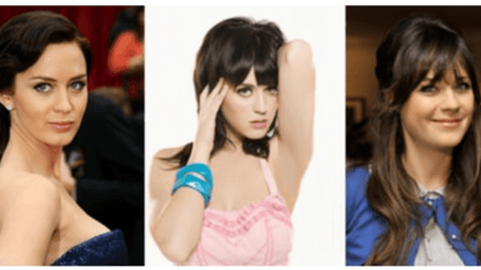 Emily Blunt a Katy Perry a Zooey Deschanel