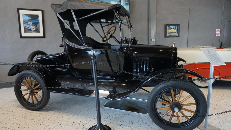Ford model T Runabout z roku 1922