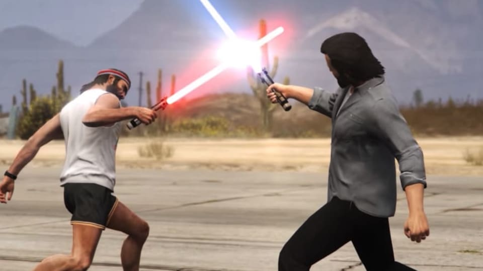 Star Wars v GTA V
