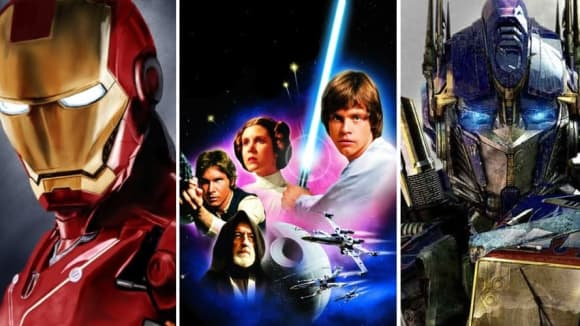 Avengers, Star Wars a Transformers