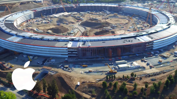 Apple Campus 2 - výstavba 2016
