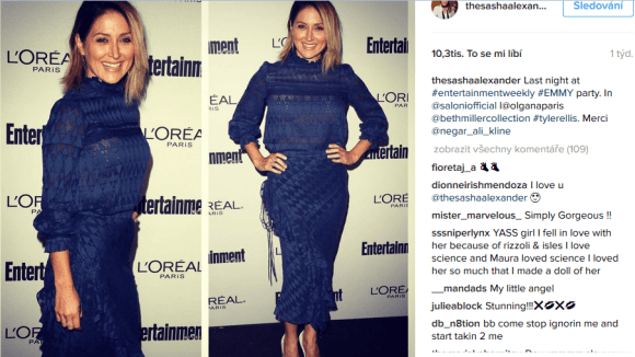Rizzoli a Isles - Entertainment Weekly Emmy party