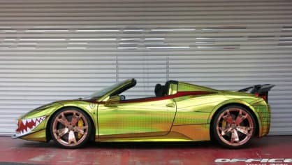 Ferrari 458 Spider Golden Shark od Office-K