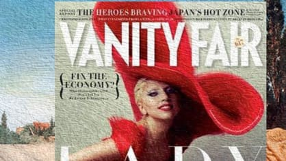 Lady Gaga, Vanity Fair a Athenais od Johna Williama Godwarda