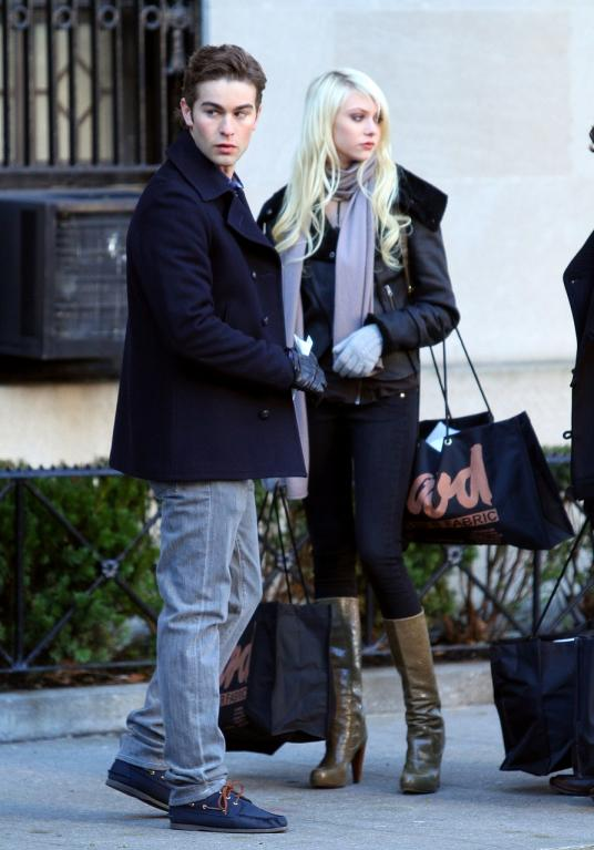 Super drbna: Chace Crawford and Taylor Momsen:
