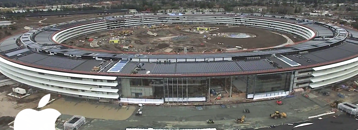 Apple Campus 2 - leden 2017
