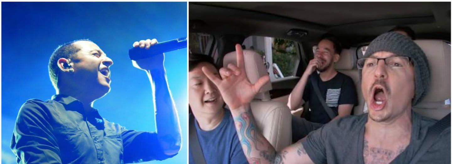 Chester Bennington v Carpool Karaoke